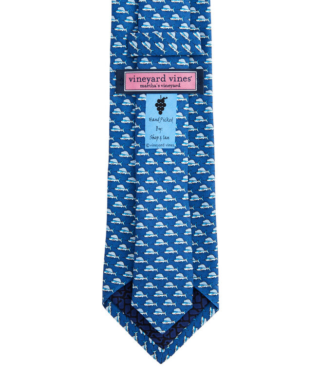 Sailfish Printed Tie