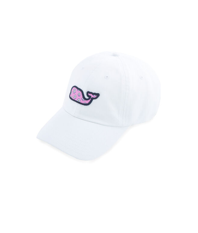Jim Nantz Forget-Me-Knot Whale Fill Twill Baseball Hat