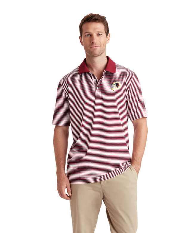 Washington Redskins Porter Stripe Polo
