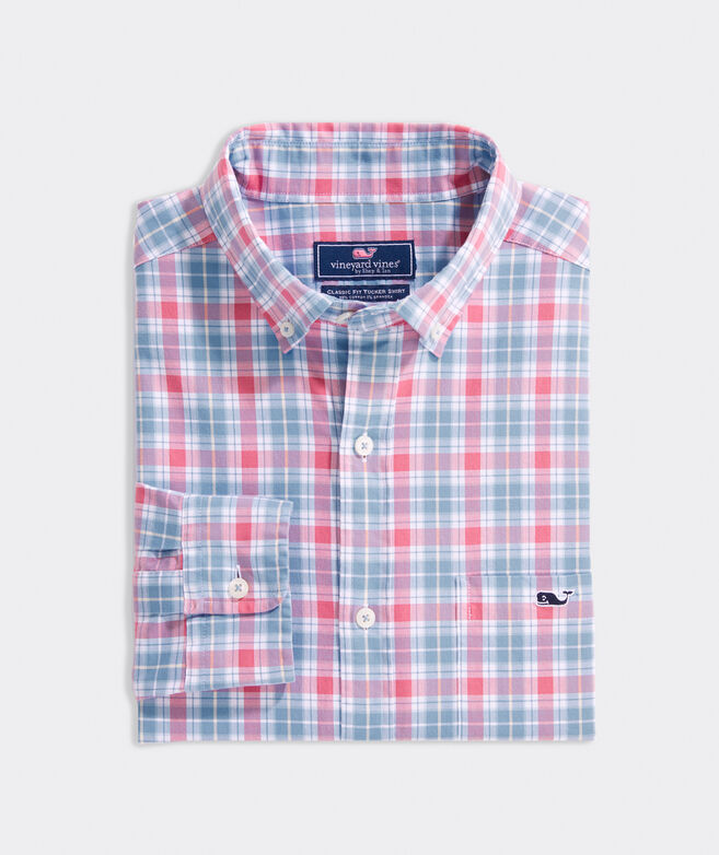 Classic Fit Fulton Tucker Button-Down Shirt