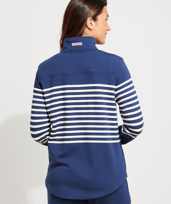 Dreamcloth Placed Striped Relaxed Shep Shirt