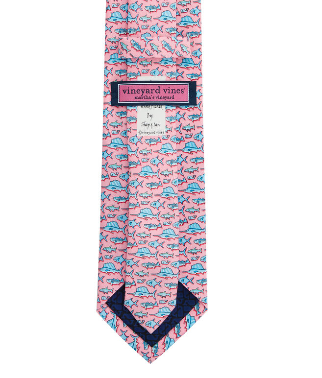 Boys New Total Fisherman Printed Tie