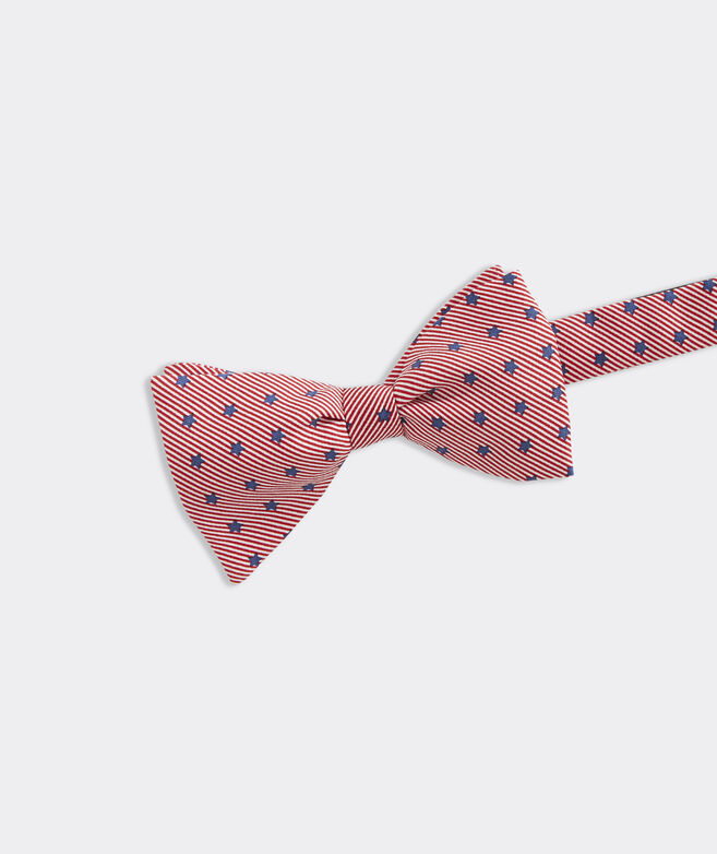 Stars & Stripes Printed Bow Tie