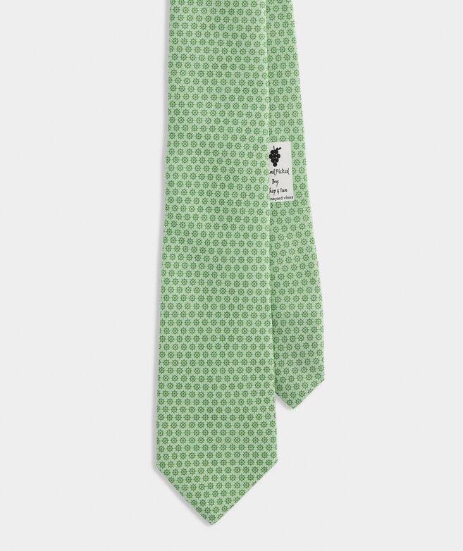 Captain's Wheel Printed Tie