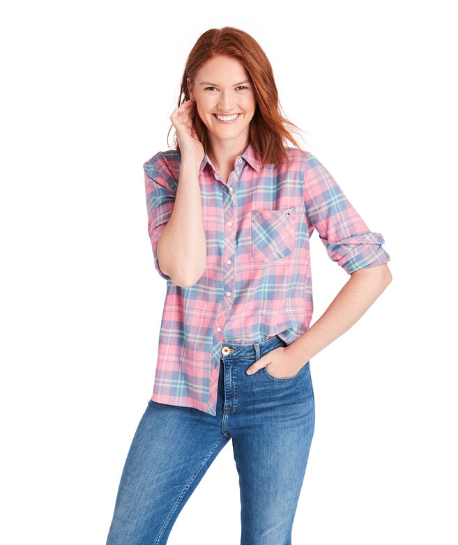 Pacific Plaid Chilmark Relaxed Button Down