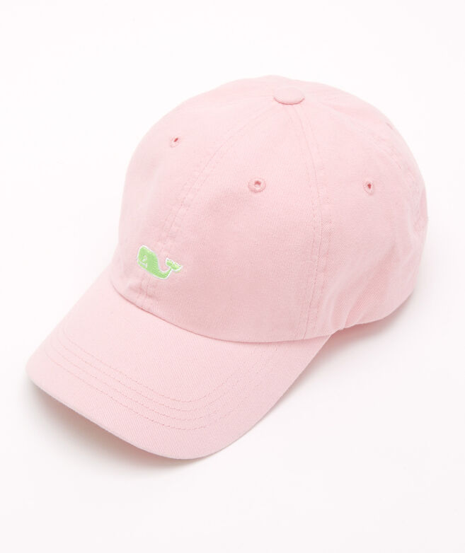 Twill Hat With Neon Whales