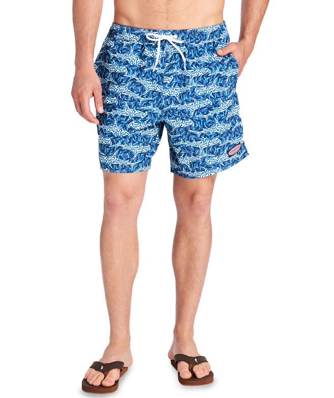 Shark Camo Chappy Trunks