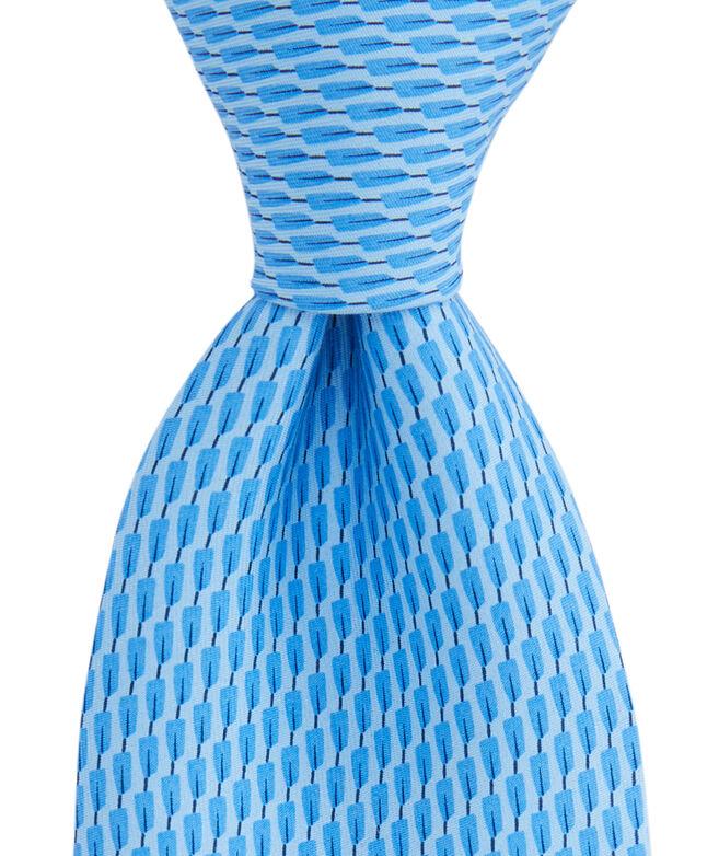 Oars Geo Printed Tie