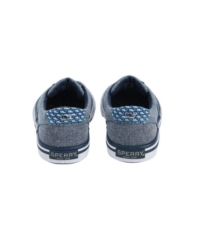 Little Kids Sperry x vineyard vines Chambray Striper II Junior Sneaker