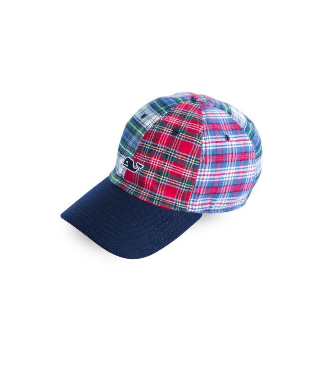 Holiday Tartan Party Hat