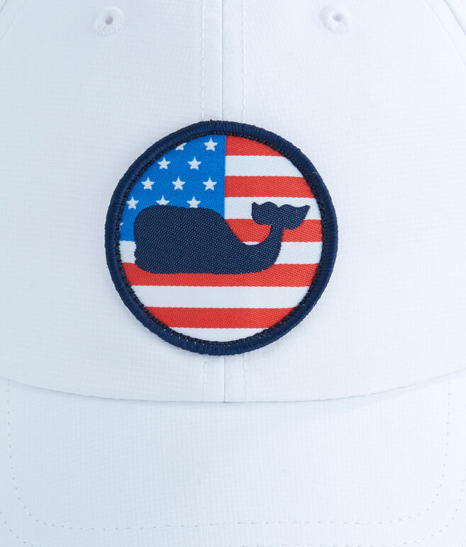 Performance Patriot Whale Dot Hat