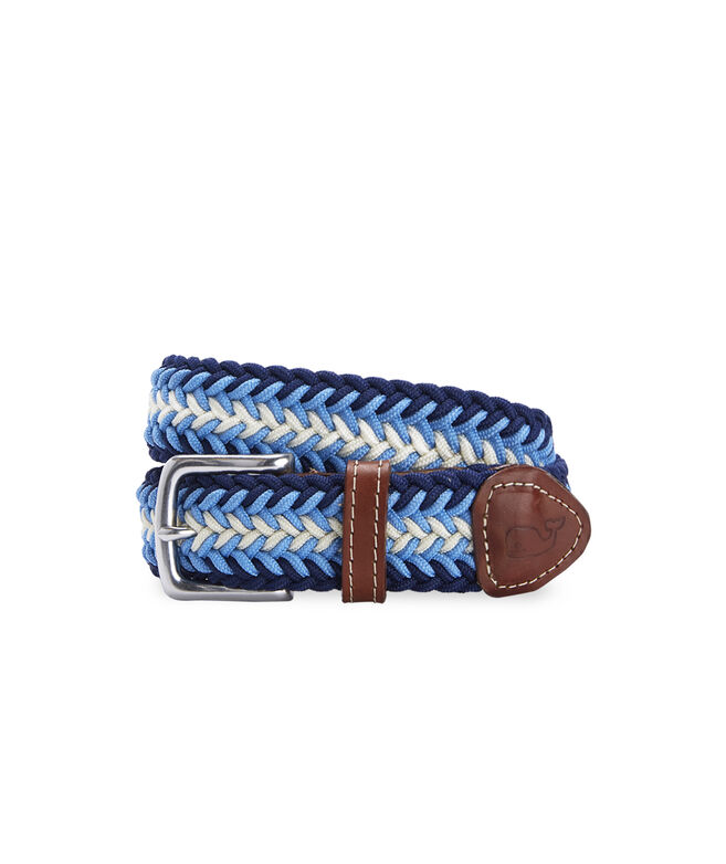 Striped Bungee Cord Belt