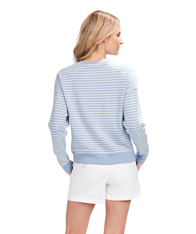 Dreamcloth Striped Modern Sweatshirt