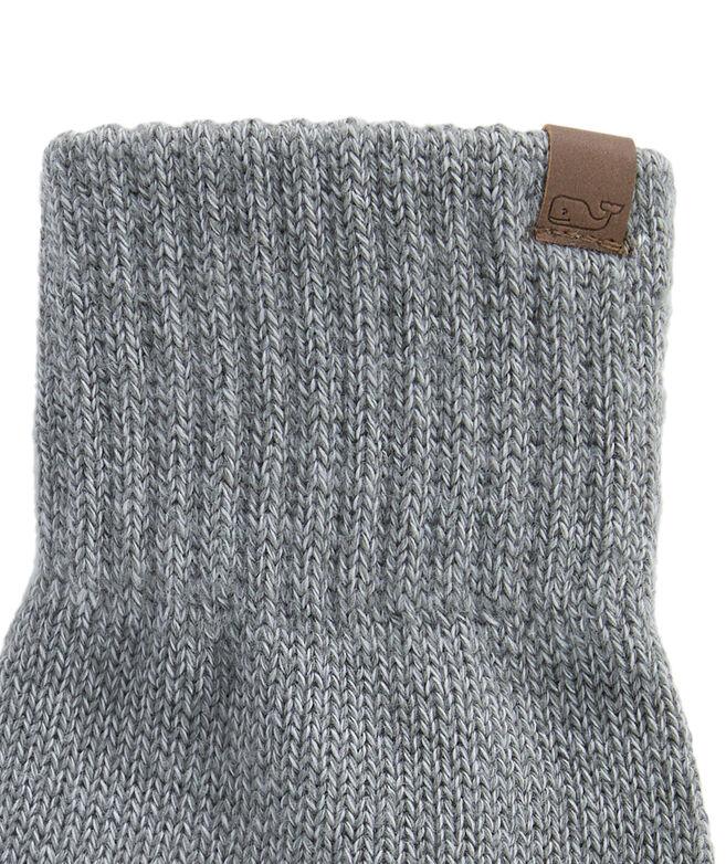 Marled Yarn Texting Gloves