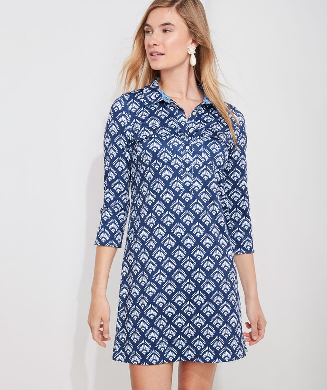 Printed Sankaty Margo Shirt Dress