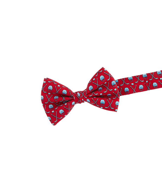 Boys' Hockey Gear Printed Bow Tie