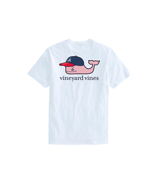 Adult Atlanta Braves Baseball Cap Pocket T-Shirt