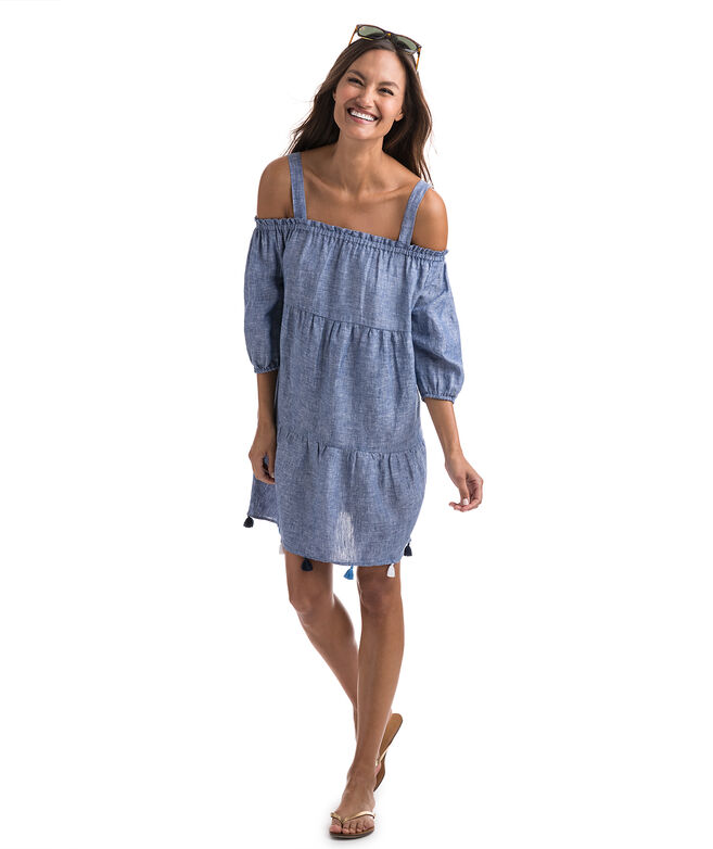 Tiered Tassel Cover-Up