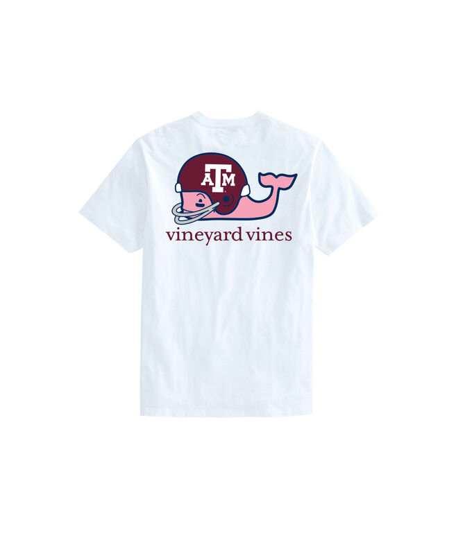 Texas A&M University Whale Helmet T-Shirt