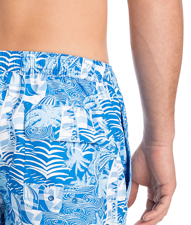 At Sea Patchwork Chappy Trunks