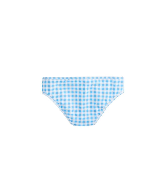 Girls Gingham Swim Bottom
