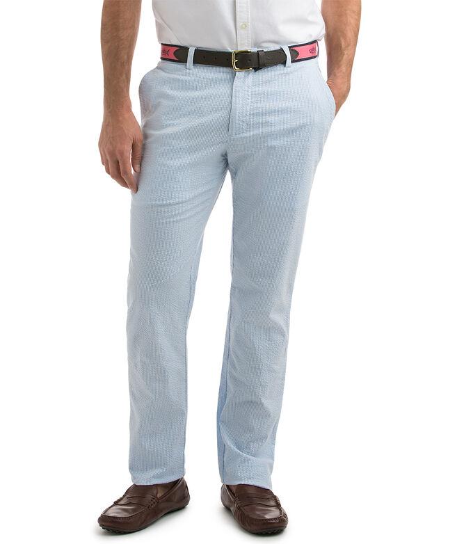 OUTLET Men's Seersucker Breaker Pants