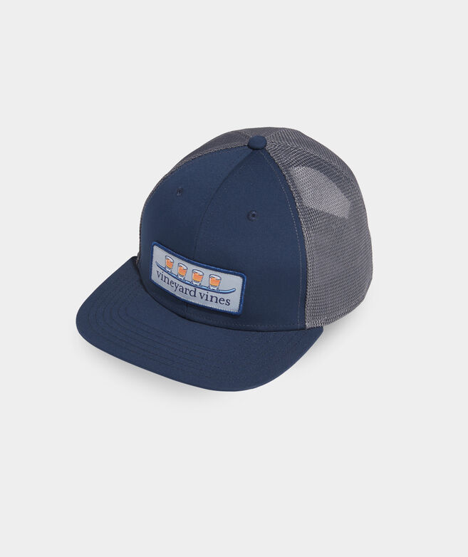 Shot Ski Patch Performance Trucker Hat