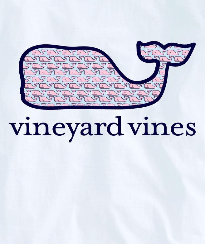 OUTLET Women's Vineyard Whale Fill Long-Sleeve Pocket Tee