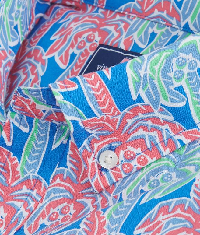 Short-Sleeve Palm Tree Classic Murray Shirt