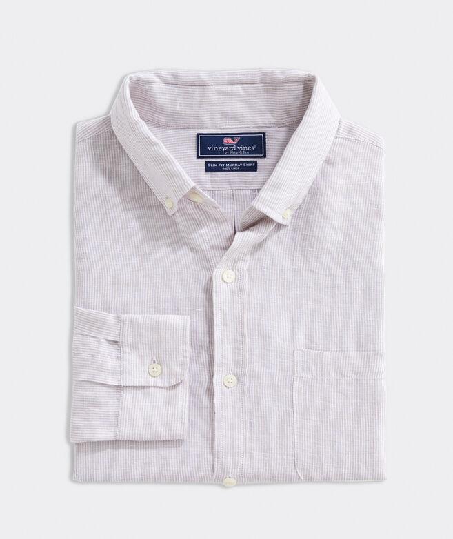 Slim Fit Paradise Linen Murray Button-Down Shirt