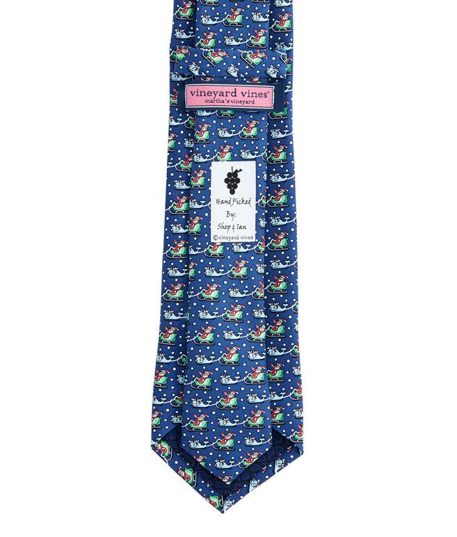 Boys Santa & Reindeer Whale Tie