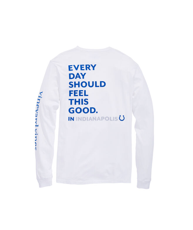 Indianapolis Colts Long-Sleeve EDSFTG T-Shirt