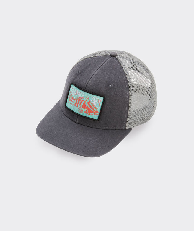 Grouper Patch Trucker Hat