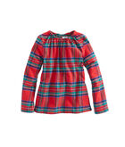 Girls Party Plaid Popover
