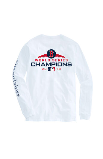 792edd81572 Adult Long-Sleeve Boston Red Sox World Series Champions T-Shirt