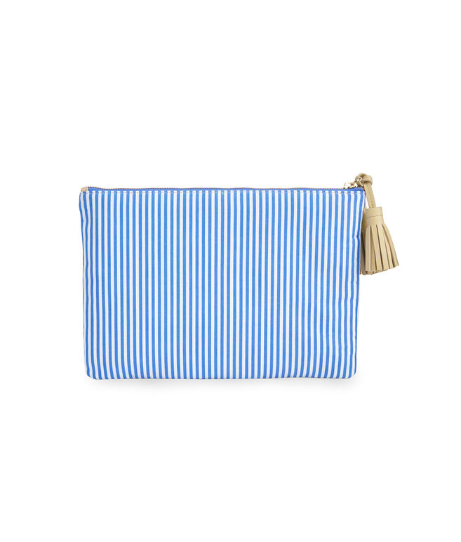 Pop Embroidered Clutch