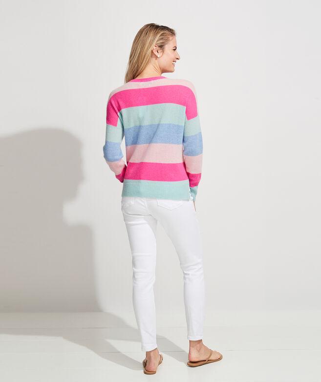 Lofty Cashmere Multi Stripe Sweater