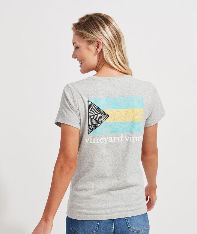 Bahama Flag Short-Sleeve Pocket Tee