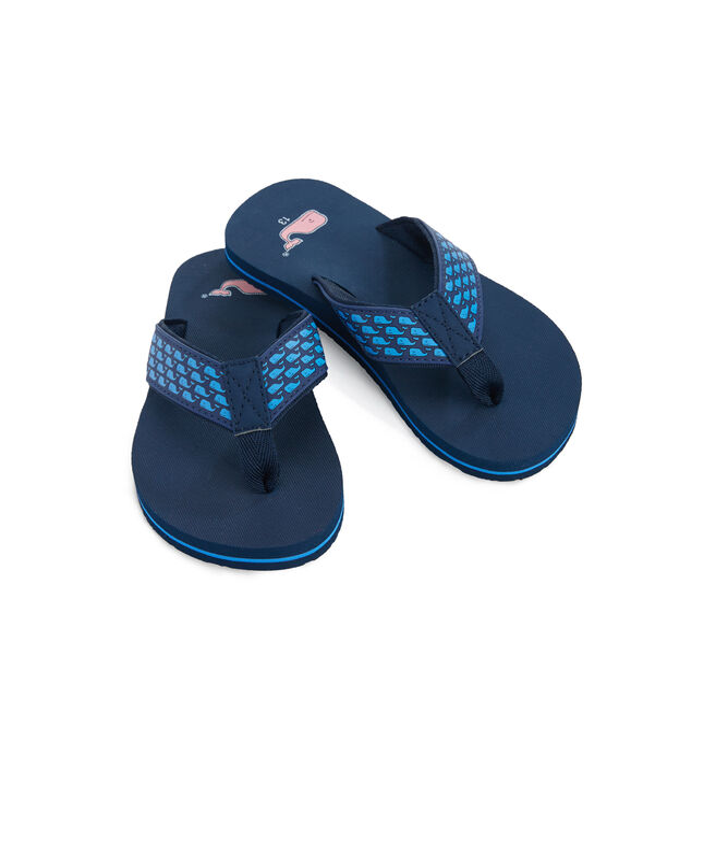 Girls Whale Classic Flip Flops