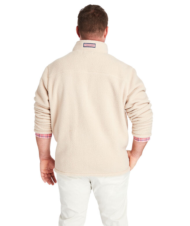 Big & Tall Chest Pocket Sherpa 1/2-Zip