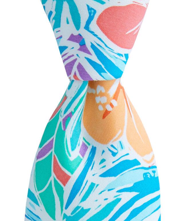 Kennedy Gulf Tropical Skinny Tie