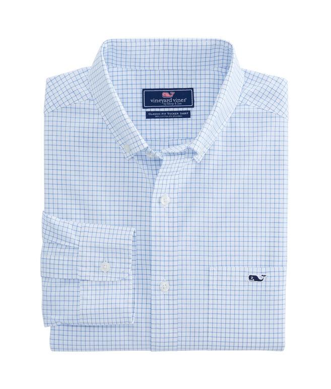 Calabash Check Classic Tucker Shirt