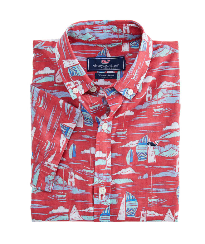 Boys Vineyard Short-Sleeve Murray Shirt