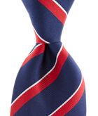Multi Stripe Woven Tie