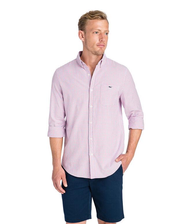 Belle Haven Plaid Slim Tucker Shirt