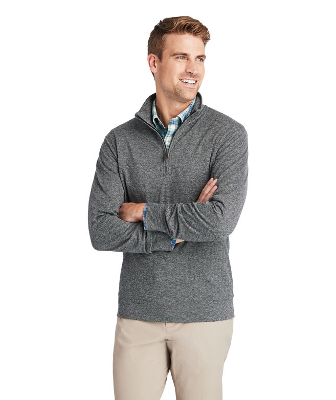 Herringbone 1/2-Zip