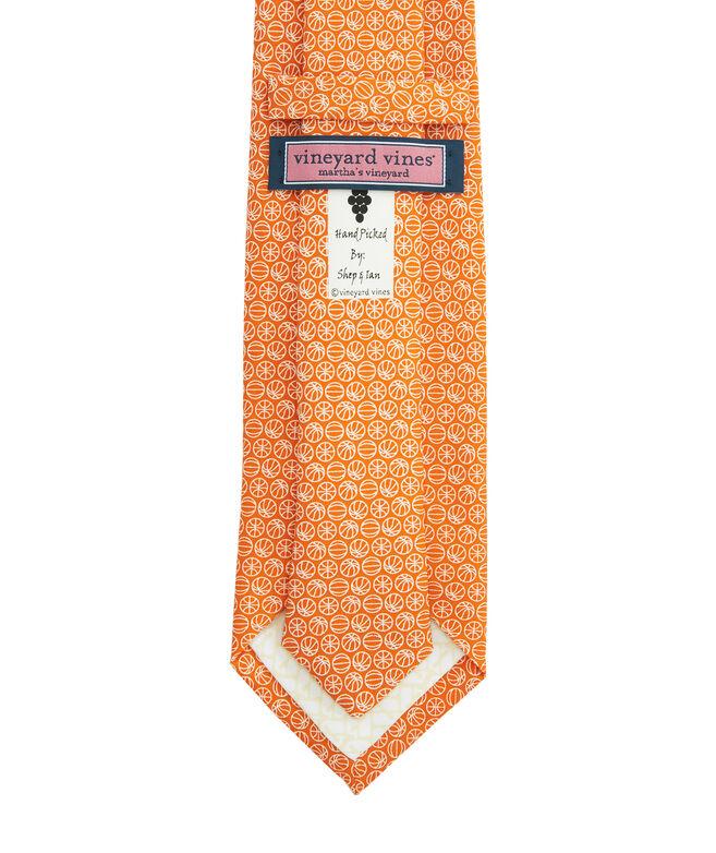 Micro Basketball Printed Tie