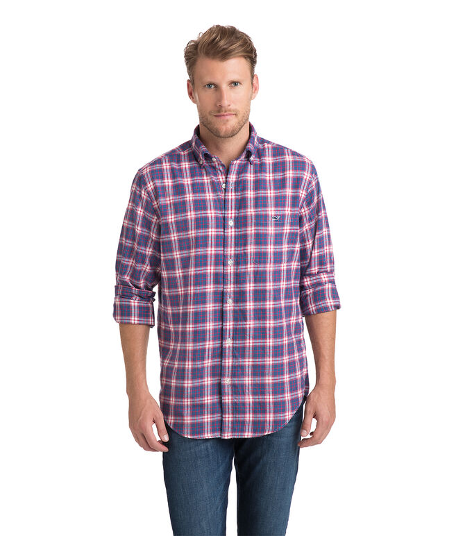 Silver Peak Plaid Performance Flannel Classic Tucker Shirt