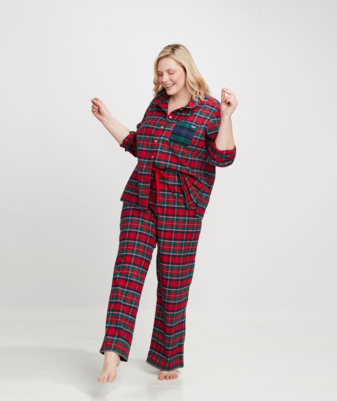 Merry Plaid Pajama Set