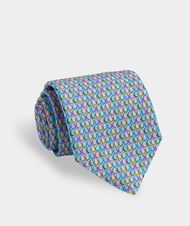 Easter Eggs Printed Tie